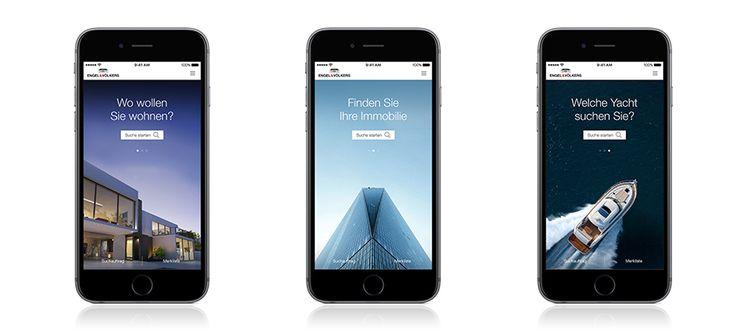 Jetzt im Apple Store! Die Engel & Völkers Immobiliensuche: 60.000 Immobilien in einer App, alles im Blick!