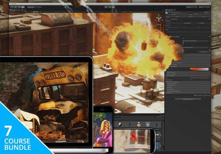 Unity3D Game Developer Course Bundle - 91% Off - 07 Courses   Unity3D Game Developer Course Bundle Discount 91% Off 7 Courses 40 Hours of Content: Build Quality Mobile Games w/ Unity 3D   Get this Bundle: Unity3D Game Developer Course  Programming
