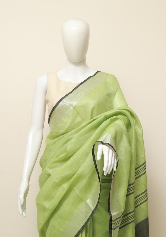 a3e9a479164a61 Linen Saree – Desically Ethnic | All things beautiful! in 2019 ...