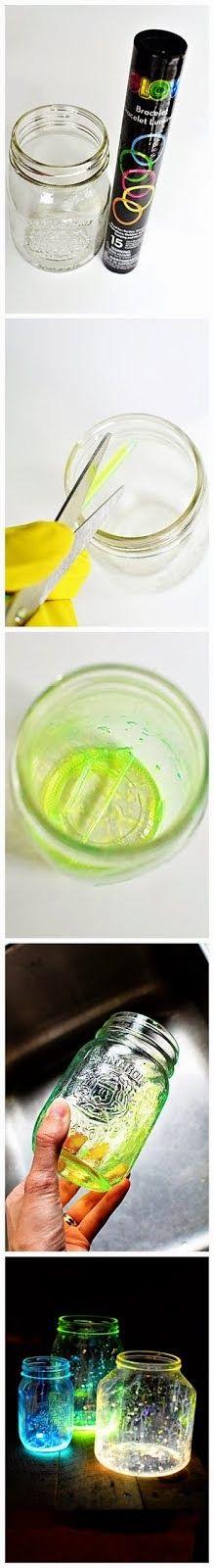How to make a glow jars