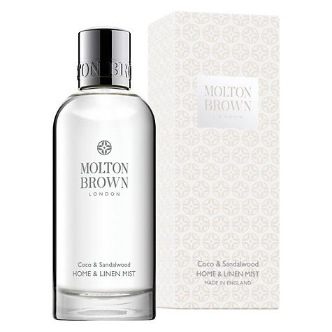Buy Molton Brown Coco & Sandalwood Home & Linen Mist, 100ml Online at…