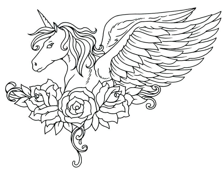 Unicorn Coloring Pages For Adults Best Coloring Pages For Kids Unicorn Coloring Pages Horse Coloring Pages Unicorn Drawing