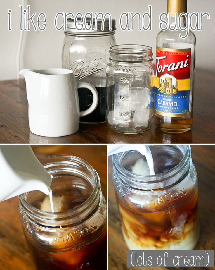 Pinned for the vanilla syrup recipe at the end (and how to cold press coffee in my french press for iced coffees)