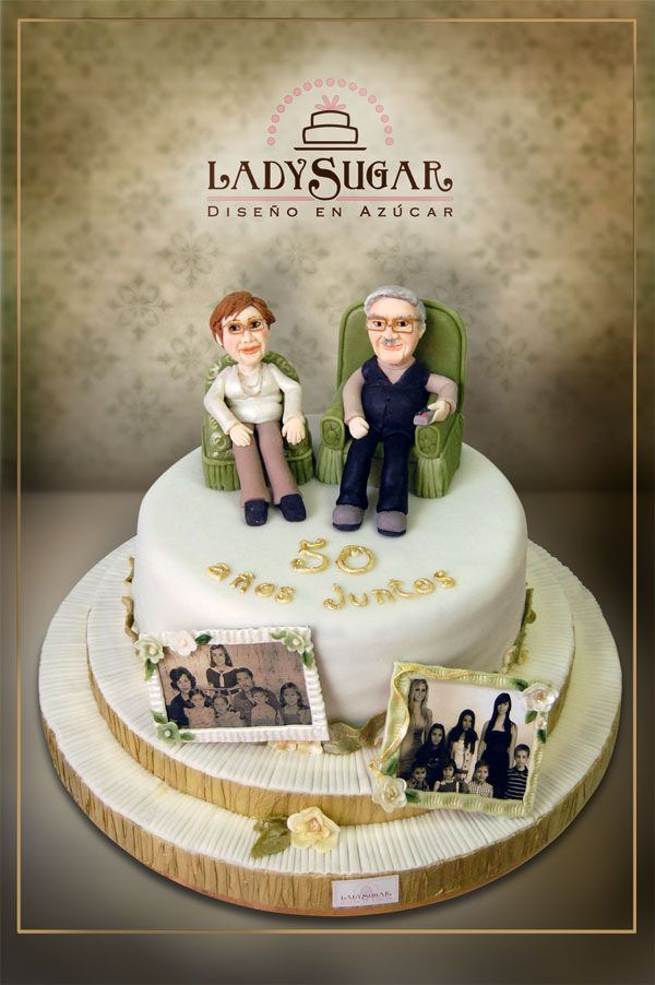 https://flic.kr/p/o9kRmE | Tarta Bodas de Oro | Golden anniversary cake