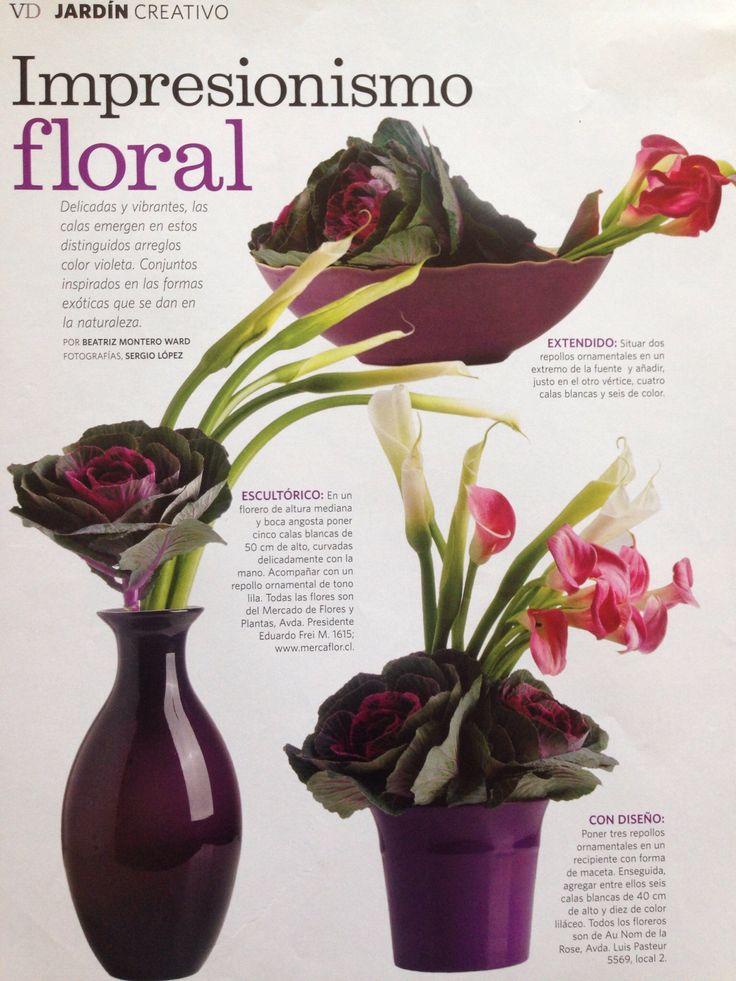 Florero en púrpura