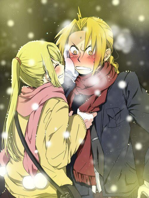 blonde den winry and - photo #40