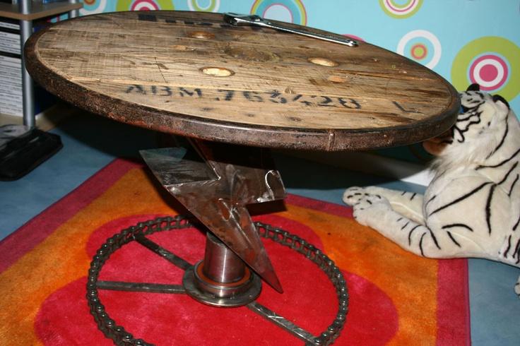 table tournante eclair