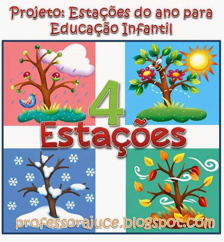 Aprender Brincando: Projeto Estações do ano para Educação Infantil