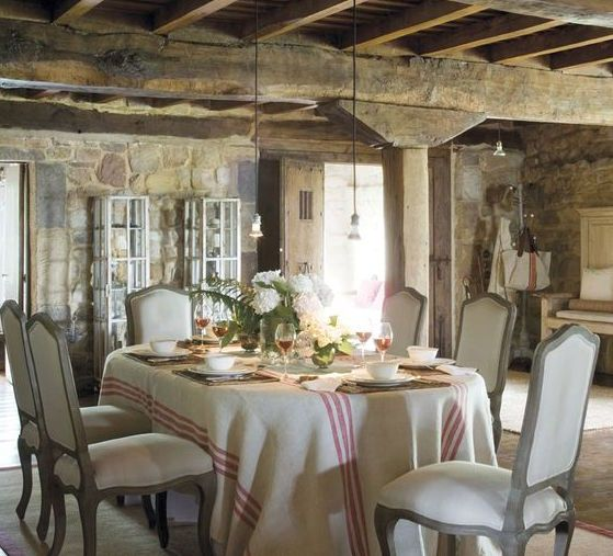 616 Best French Country Images On Pinterest  Chairs Country Extraordinary Country French Dining Room Set 2018