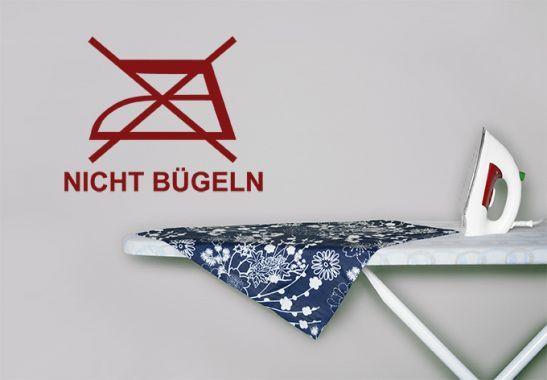 Wandtattoo - Wäschezeichen Nicht Bügeln