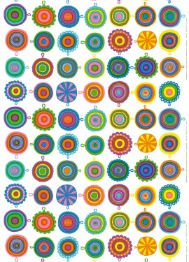 Marimekko, Lappuliisa - it's sort of psychedelic but I love it anyway :)