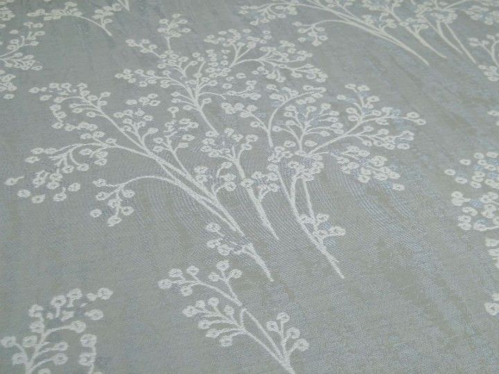 Fryetts Chantilly Weave Seafoam Curtain Fabric The Millshop