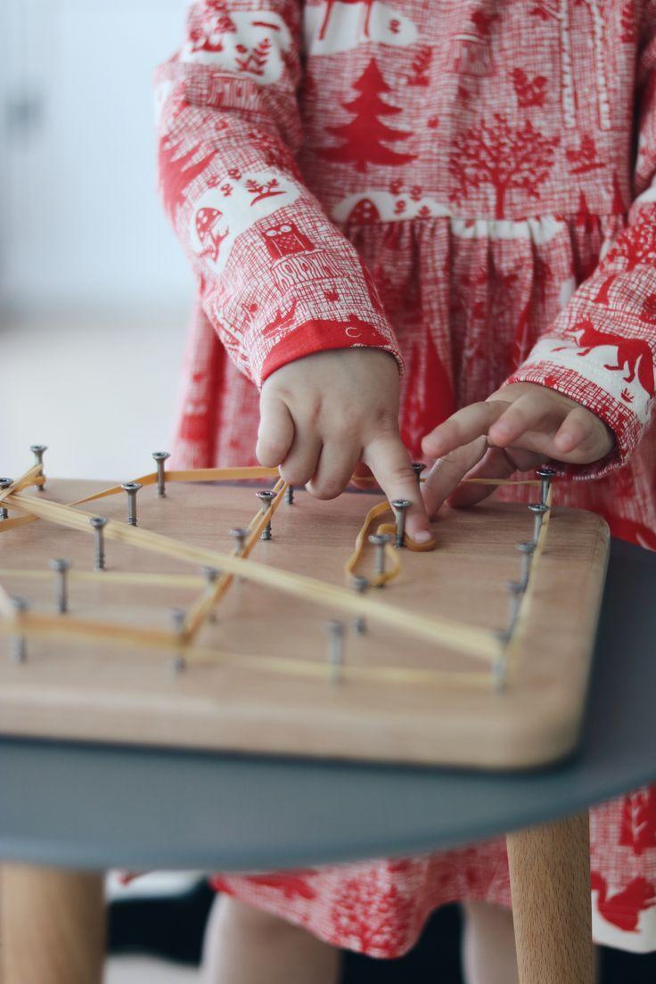 Montessori Material für Kinder ab 1 Jahr