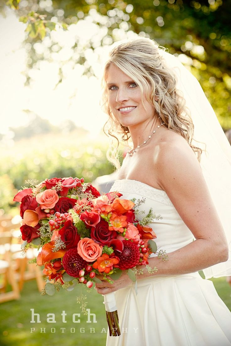 Late Summer/Early Fall Wedding Flowers