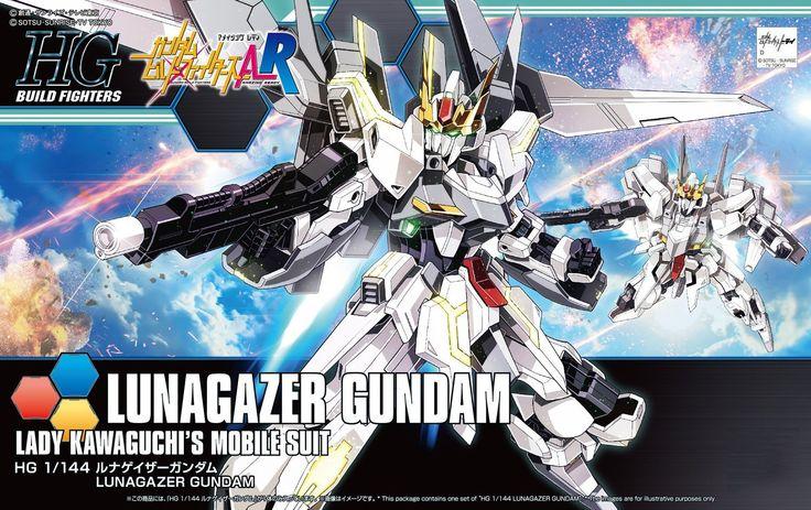 Bandai Hobby HGBF Build Fighters A-R Lunagazer Gundam HG 1/144 Model Kit