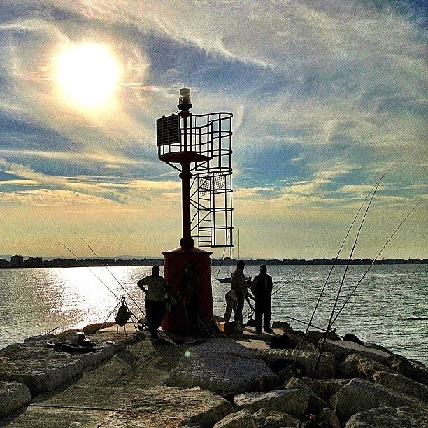 Rimini, lighthouse - Instagram by @fabio33
