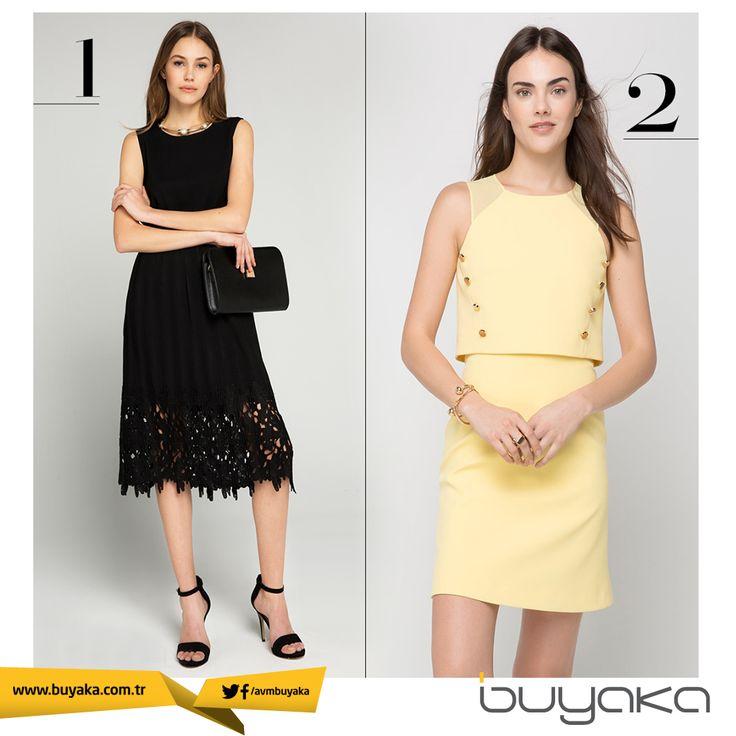 Siyahın gücü mü sarının soft etkisi mi? Sizin tercihiniz hangisi? #BuYakanınTarzıBuyakada #Sarı #Siyah #Moda #Stil