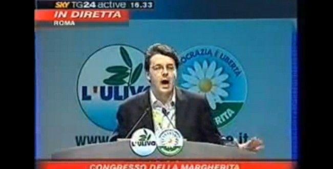 [VIDEO] Mattarella stoppa Renzi al congresso della Margherita nel 2007