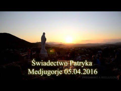 Świadectwo Patryka z Kanady 05.04.2016 Medjugorje