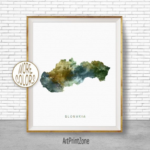 $8.00 Slovakia Map Art, Slovakia Print, Watercolor Map, Map Painting, Map Artwork, Country Art, Office Decorations, Country Map Art Print Zone #OfficeDecorations #ArtPrint #CountryMapArt #ArtPrintZone #CountryArt #MapArtPrint #Slovakia #CountryMap #MapArtwork #WatercolorMap