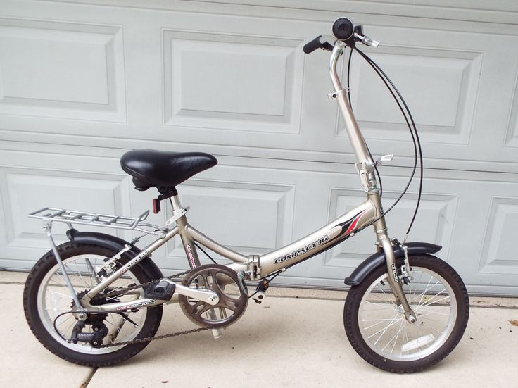 Kent Compact 16 Foldable Aluminum Bicycle Pre Owned Kent