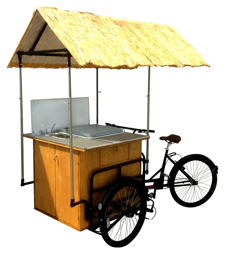 HOT DOG CART MEXICO TUCANO BASIC BIKE TRICYCLE FOR STREET FOOD