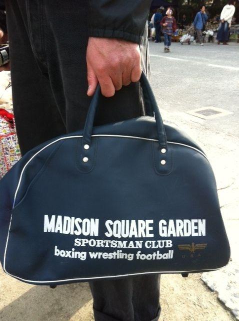 一世を風靡した、昭和の学生カバン「マジソンバッグ」とニューヨークにある、マディソン・スクエア・ガーデンについて調べてみました。