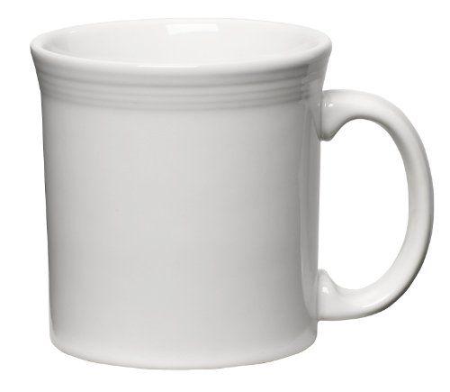 Fiesta 12-Ounce Java Mug, White Homer Laughlin http://www.amazon.com/dp/B00080Q3A8/ref=cm_sw_r_pi_dp_xtiOvb1A6CCAH