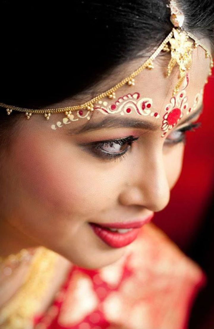 Bengali Bridal Makeup With 10 Amazing Pics And Videos Womens