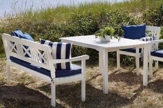 Скамейка из сосны Grundsund - Скамейки деревянные - Садовые скамейки