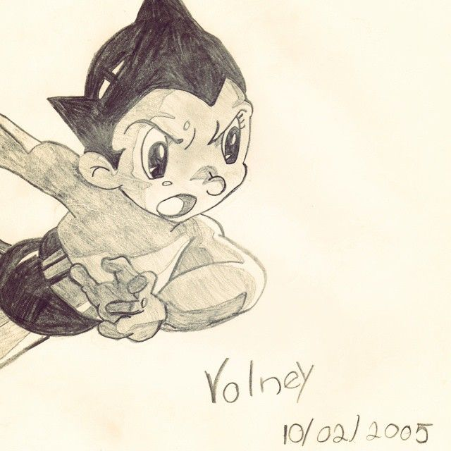 """Feriado é dia de preguiça! Por isso, um sketch antigo de 10 anos atrás. O tempo passa rápido. #02 #astroboy #2005 #2015 #  Folks, everyday i will draw and publish something from my sketchbook. It is to promote my work and a way to be better day by day. Like they say: """"Everything starts with a sketch"""" & """"Imagination > knowledge"""". So, let's do that!  #sketchup#sketch#vdevolney#draw#art#anime#ink#sketchbook#multimídia#desenho #rabisco @vdevolney -#twitter#pinterest…"""