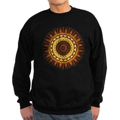 del Sol Mandala Sweatshirt on CafePress.com