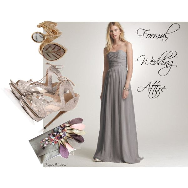 Formal Wedding Attire, created by sugarblisters