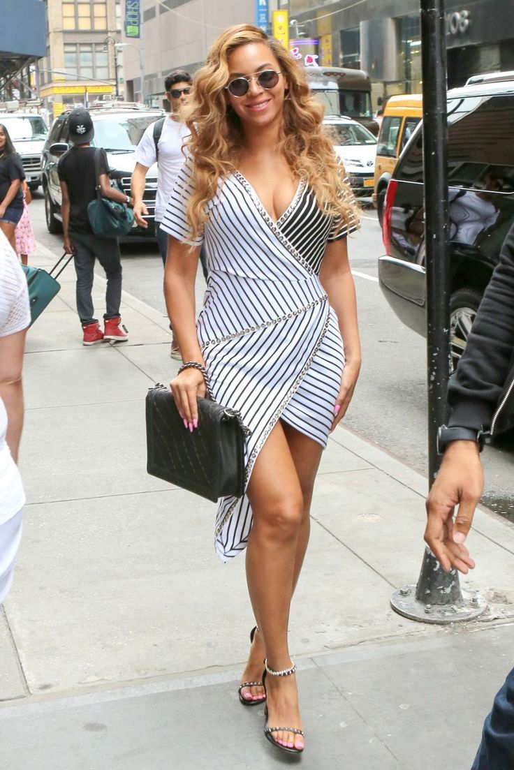 Beyonce out and about in New York