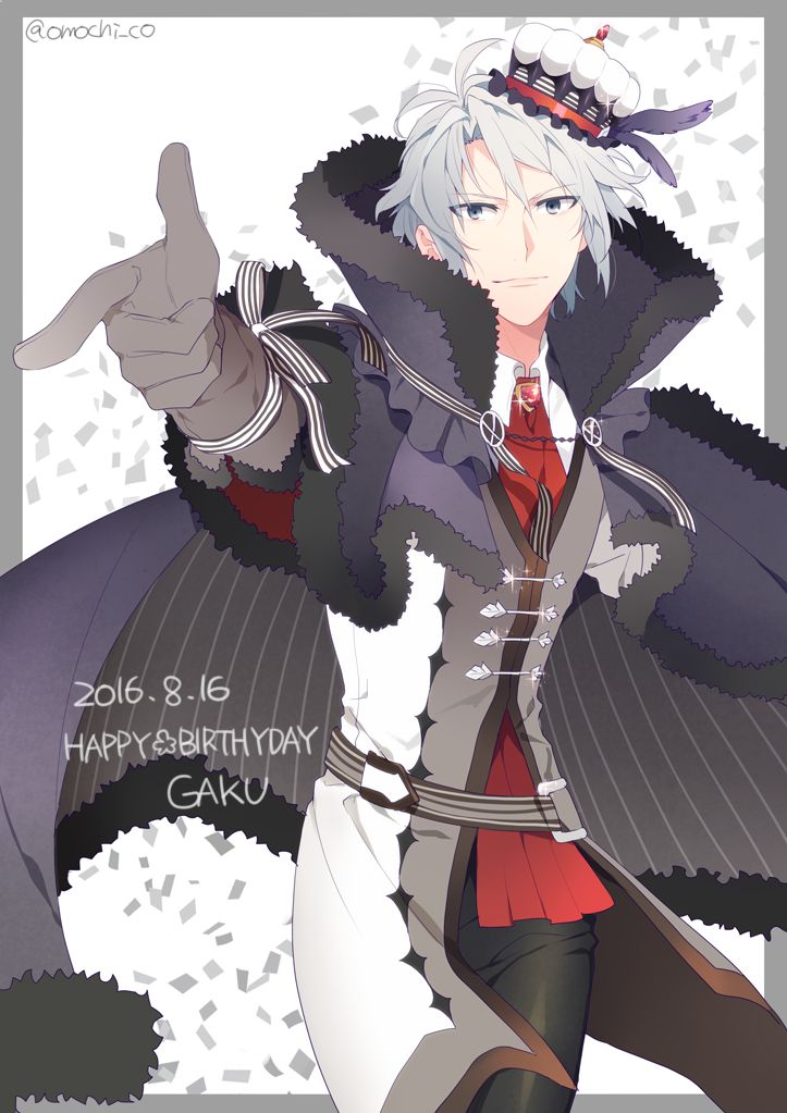 Idolish7 Gaku happy birthday 8.16