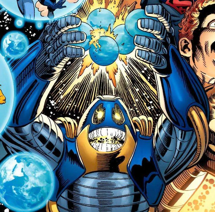 The Anti-Monitor is the controller of the Anti-Matter Universe and its ability to negate universes makes him responsible for more deaths than any other villain in DC comics.