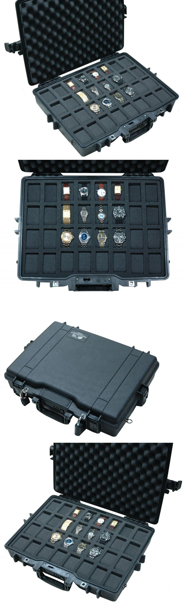 Boxes Cases and Watch Winders 173695: Case Club Waterproof 32 Watch Travel Case -> BUY IT NOW ONLY: $250.1 on eBay!