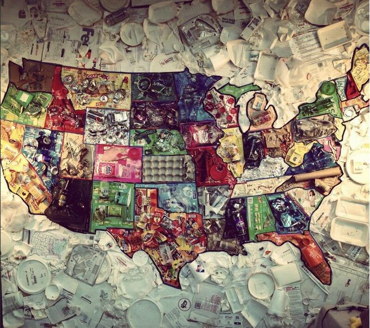 Best See The USA In A Different Way Images On Pinterest - Us map collage
