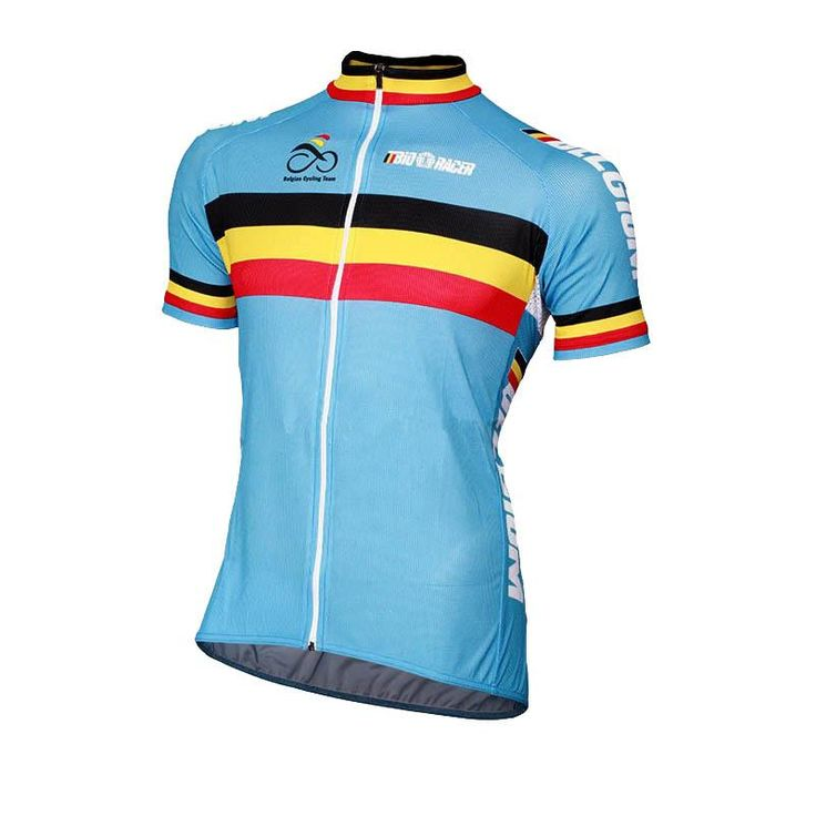 [Visit to Buy] Bicycle brand  professional mountain bike wear ciclismo men Belgium cycling jersey Belgium outdoor team Short blue Best selling #Advertisement