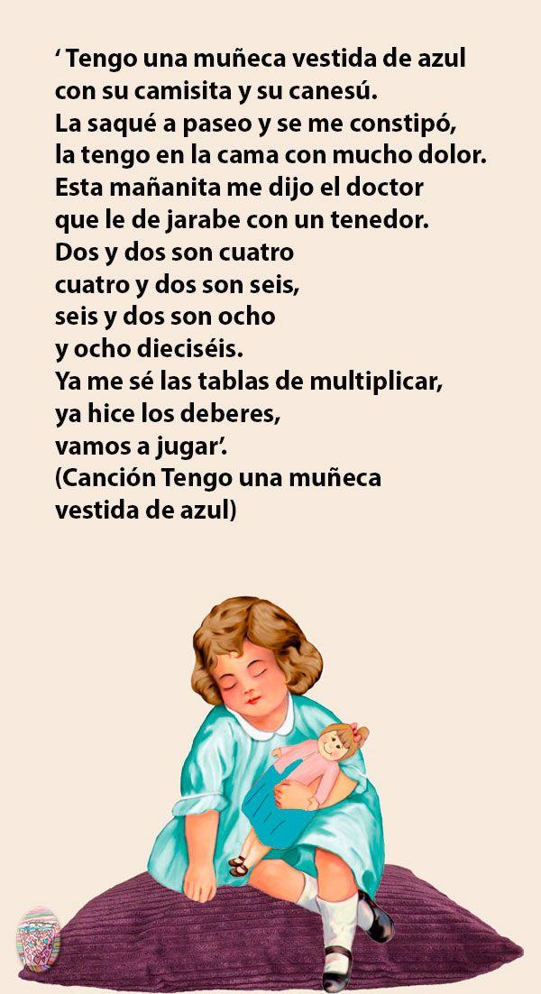 Esta Canción Seguramente Te Traiga Muuuchos Recuerdos Cancionespopulares Cancionesinfantiles Poemas Infantiles Canciones Infantiles Canciones