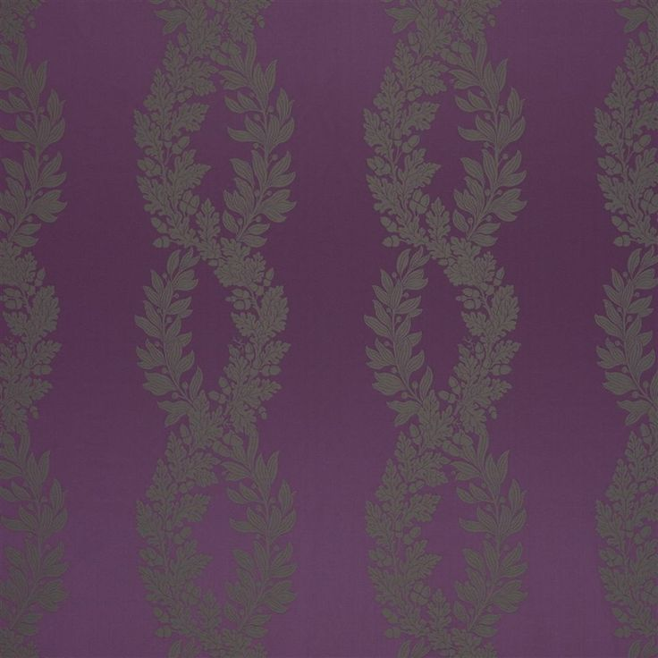 victoria - mulberry fabric   Royal Collection...IF YOURE COLOR SCHEME AND DECOR IS GREEN AND OR PURPLE,THIS WALLCOVER/FABRIC/WALLPAPER WITH A PURPLE BACKGROUND AND GREEN PRINT WILL BE BEAUTIFUL...CHERIE