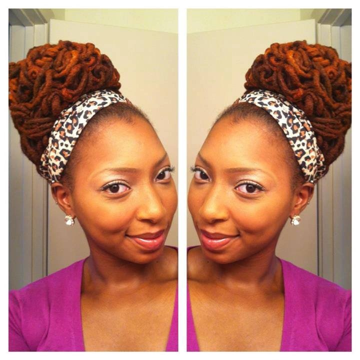 Loc Updo Hairstyles 365 Best Luscious Locz  Updo I Images On Pinterest  Natural Hair