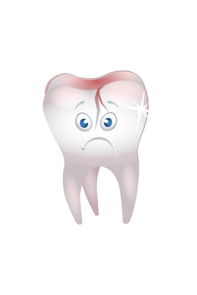 Sick Tooth Vector Image #tooth #dentist #vector #vectorpack http://www.vectorvice.com/dental-vector-pack