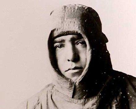 Ernest Shackleton, amazing explorer who showed extraordinary endurance and leadership skills.