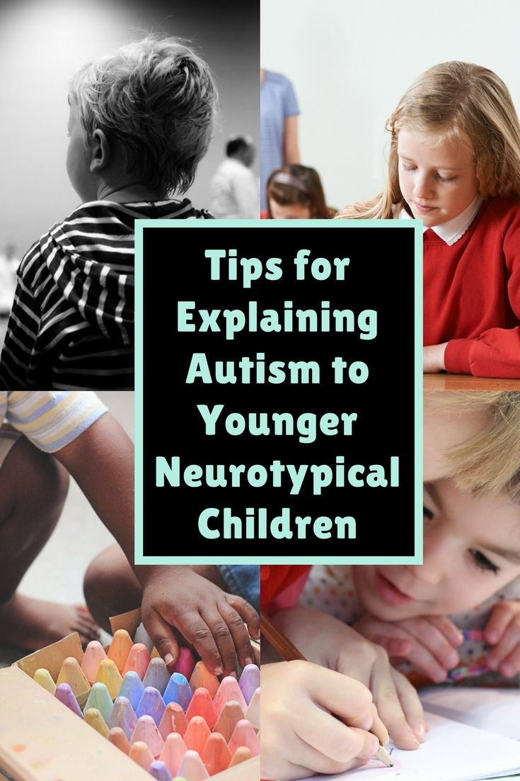 Tips for explaining autism to younger neurotypical children