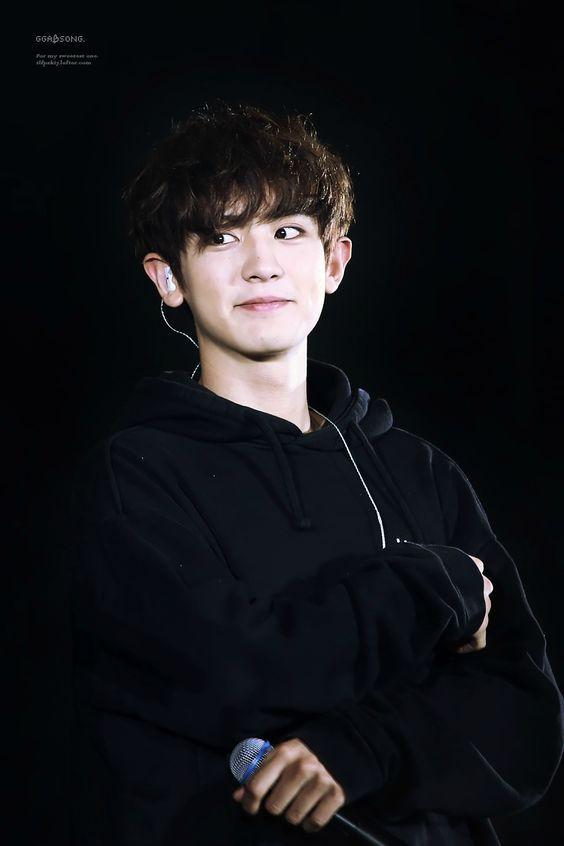 Chanyeol I black is my weakness. He is just my weakness