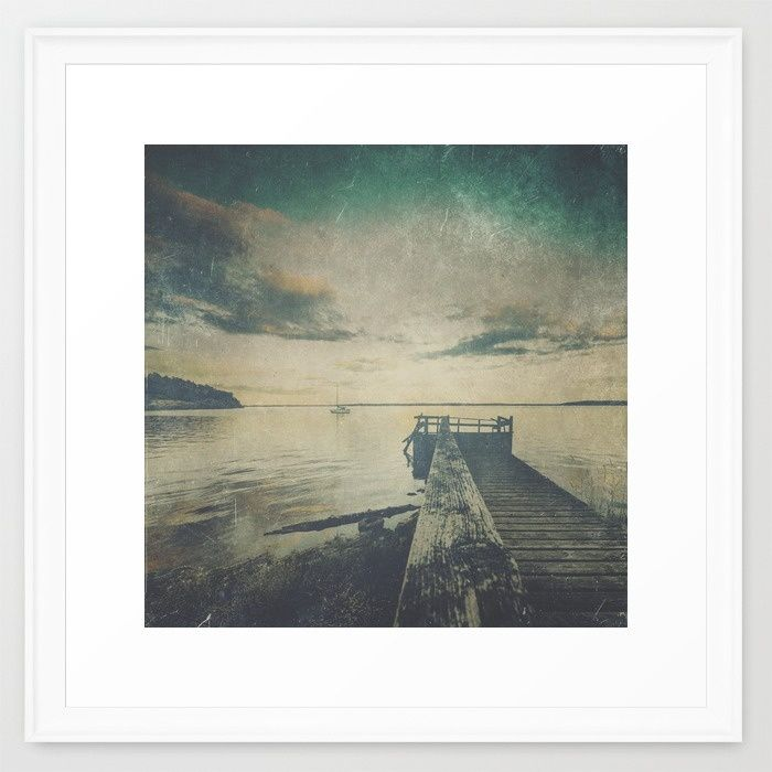 Dark Square Vol. 4 Framed Art Print