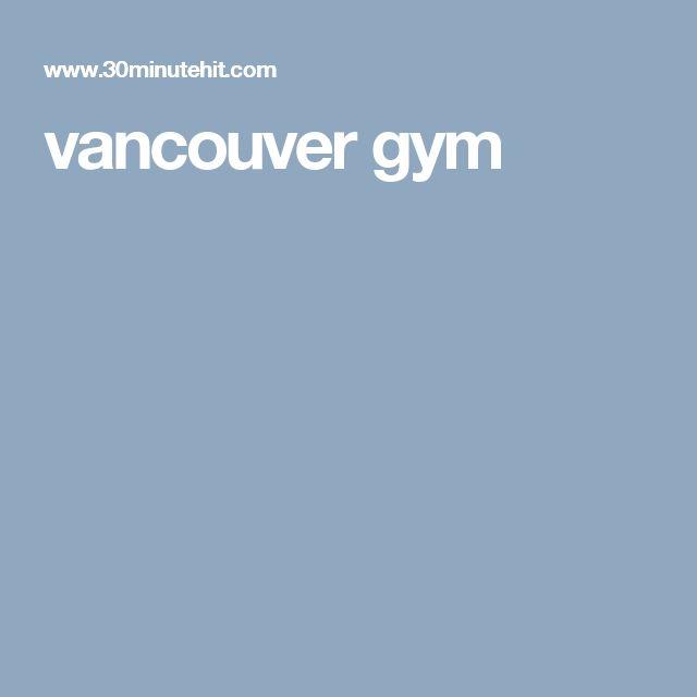 vancouver gym