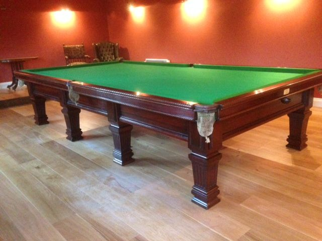 burroughes and watts full size snooker table restoration browns rh pinterest com pool table restoration parts pool table restoration uk