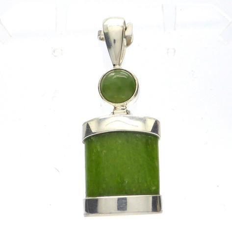 Tsavorite Green Garnet Pendant | 925 Sterling Silver | Heart Healer | Crystal Heart Melbourne Australia since 1986